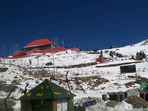GANGTOK TO NATHULA PASS TOUR VIDEO