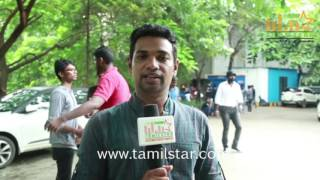 JayaChandharan At Saveetha College For Aadhiyan Movie Promotion