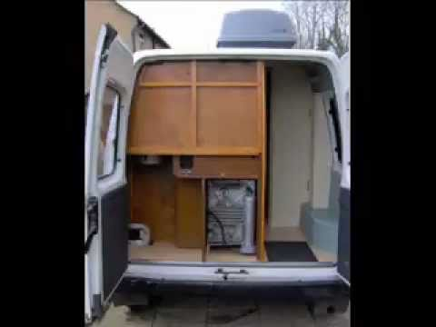 DIY Self Build Camper Van Conversion Project.