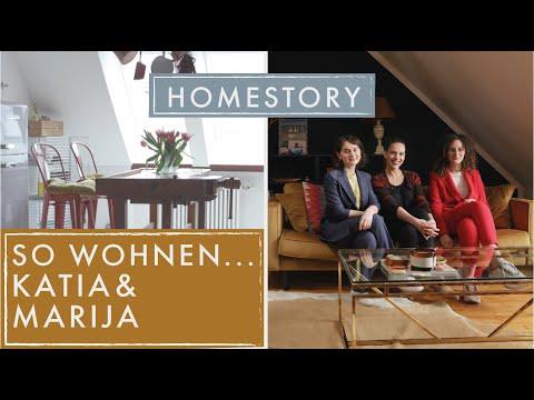 So wohnen...Marija und Katja | Vintage Mix in Perfektion | Home Story