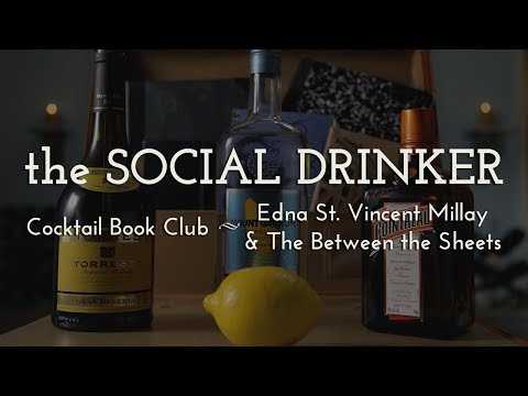 Cocktail Book Club - The Social Drinker - How to Make a Between the Sheets