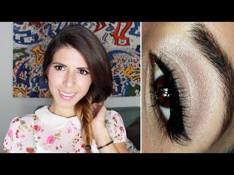 Peinado y Maquillaje Diario para Primavera - Verano 2014 / Everyday makeup and h