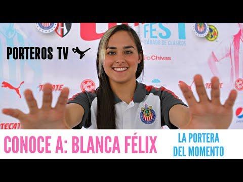 BLANCA FÉLIX La increíble PORTERA de CHIVAS FEMENIL.