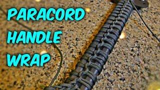 Simple Paracord Handle Wrap