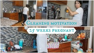 SPEED CLEAN WITH ME! | PREGNANT EDITION!