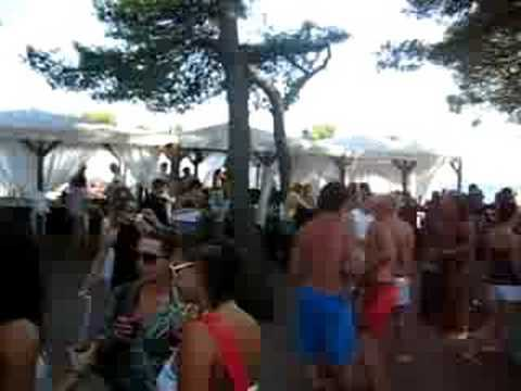 Party at hookah beach bar vodice croatia youtube for Bash bash food bar vodice