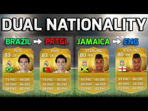 FIFA 15 - DUAL NATIONALITY!!! - Squad Of Players Eligible For Different National Teams