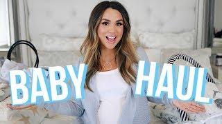 HUGE NEWBORN BABY HAUL! CLOTHES, STROLLER, DIAPER BAG & MORE | ALEXANDREA GARZA