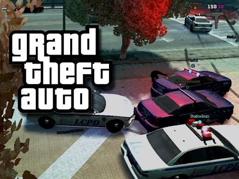 GTA - Cops and Robbers 3 - (Funny GTA Skit/Custom Gameplay)