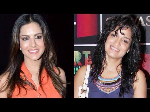 Sunny Leone & Sandhya Mridul's Lesbian Deleted Sex Scenes In Ragini Mms 2 video