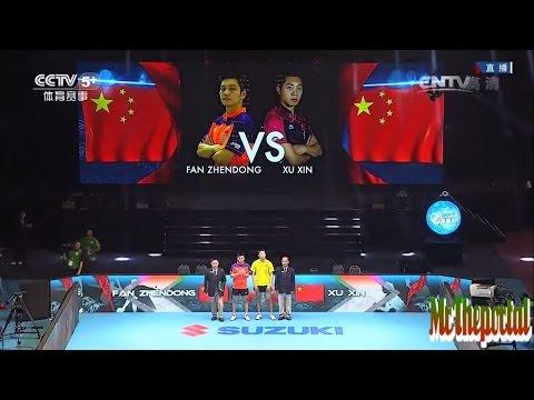 Table Tennis Asian Championships 2015 - Xu Xin Vs Fan Zhendong - (FINAL)