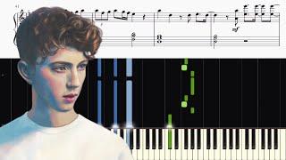 Download Lagu Troye Sivan - My My My! - Piano Tutorial + SHEETS Gratis STAFABAND