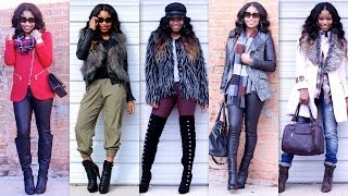 WINTER FASHION TRENDS 2014 |  Lookbook