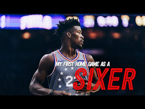 My First Home Game as A Sixer