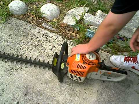 Taille stihl hs 45