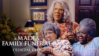 "Tyler Perry's A Madea Family Funeral (2019 Movie) Official Clip - ""Funeral Home"""