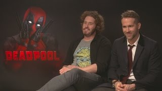 Ryan Reynolds and T.J. Miller discuss Wolverine