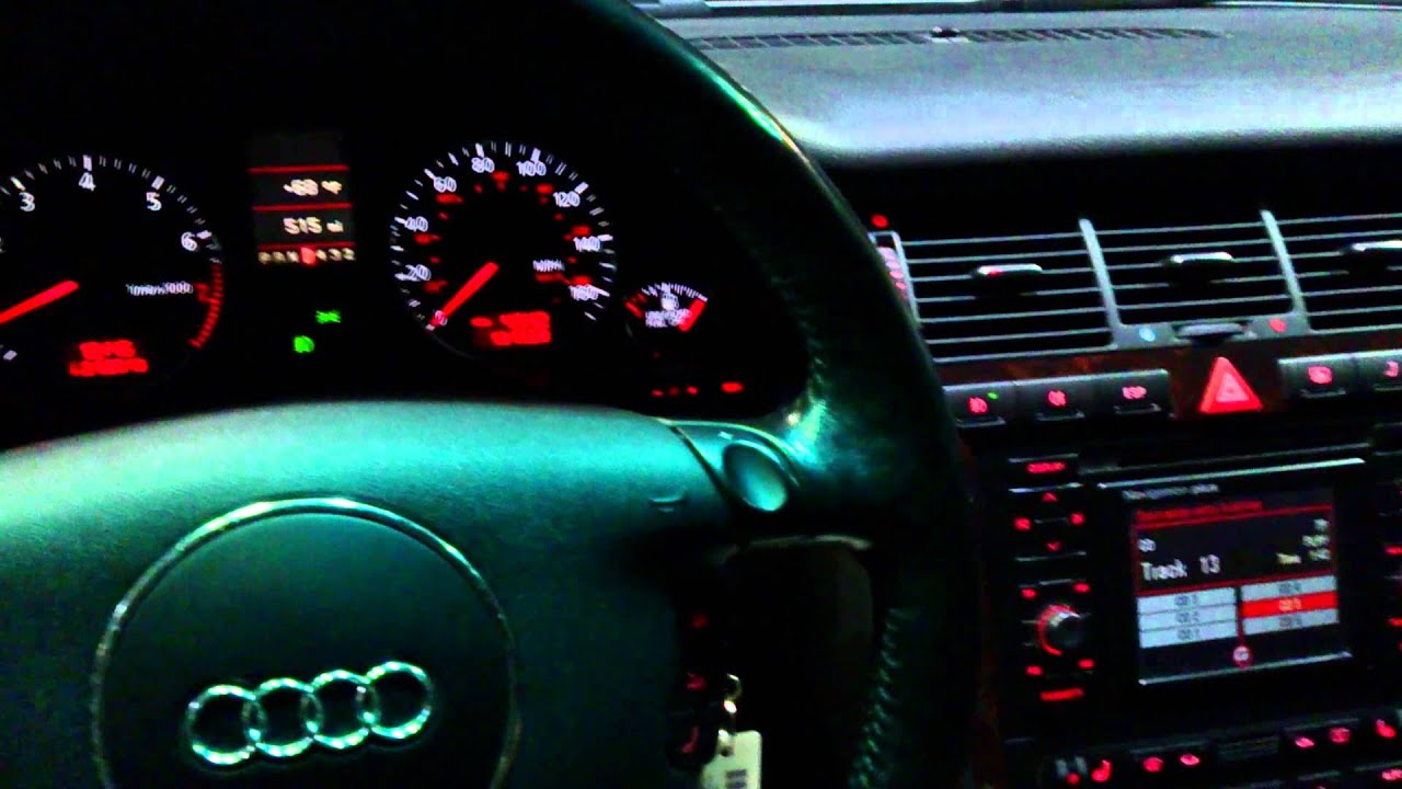 2001 Audi A8L at night :-) - YouTube