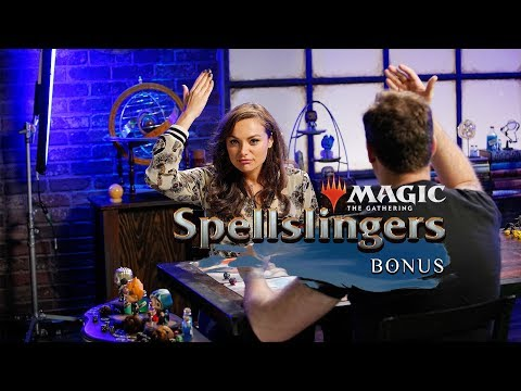 Gag Reel! Day[9] vs. Christina Ochoa | Magic: The Gathering: Spellslingers