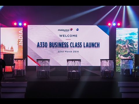 Malaysia Airlines A330 Business Class Launch