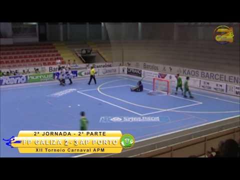XII Torneio Int. Carnaval 2015 2.ª Jor: AP Porto 5-3 FP Galiza