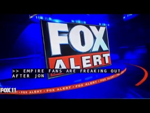 KTTV Fox 11 Ten O'Clock News open May 12, 2016
