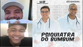 Wesley Safadão e Leo Santana fazem live compartilhada sobre a música Psiquiatra do bumbum