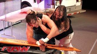 Dean Ambrose vs. Bray Wyatt - Ambulance Match: Raw, January 5, 2015