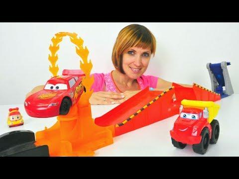 Трасса для Маквина и машинок Робокар - детский сад 11