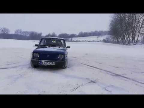 Zimowa Zabawa Fiat 126p Skoda Felicja