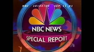 NBC News Special Report Open   9.11.2001: 11:00PM EDT