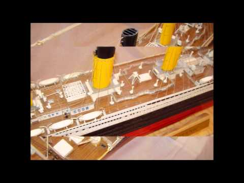 Hachette Titanic Model Ship