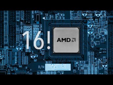 AMD 16-CORE 'Zen' Processor Leaked?