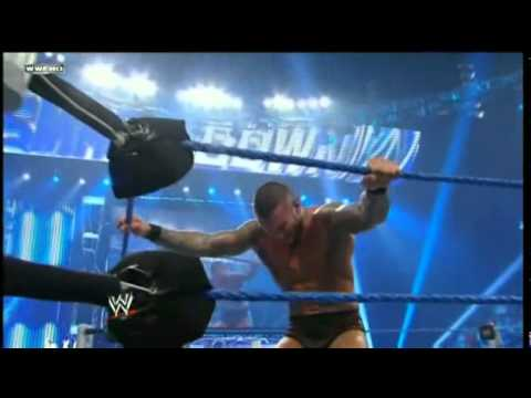 Kane Vs Randy Orton Street Fight Full Match video