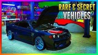 GTA 5 Online - FREE RARE CARS Locations 1.43: SECRET HIDDEN RARE CARS! (GTA 5 Best Rare Cars Online)