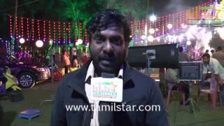 Vijay Vasanth At My Dear Lisa Movie Shooting Spot