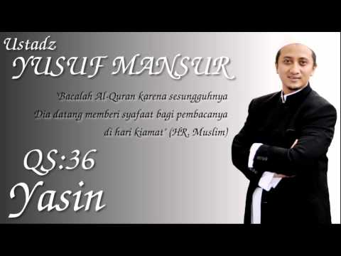Qs.36. Yasin (ust. Yusuf Mansur) video