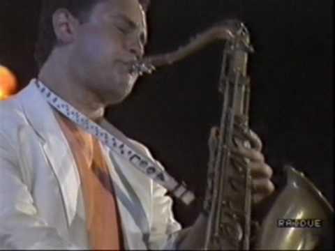 Miles Davis at U. Jazz 89 - Rick Margitza Solo on Human Nature
