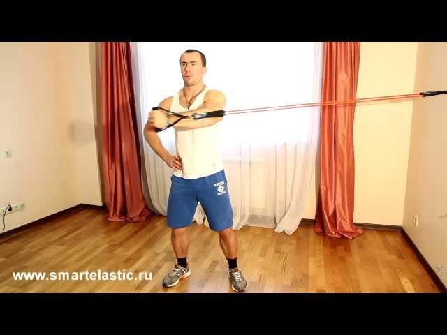 Основные упражнения с эспандером! Extensores y Flexores Extremidad toracic