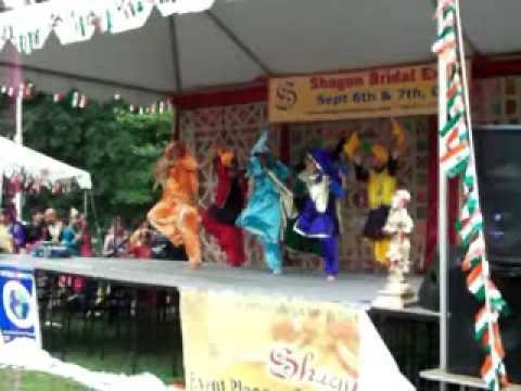 KIDS BHANGRA AT ASIAN FESTIVAL 2009