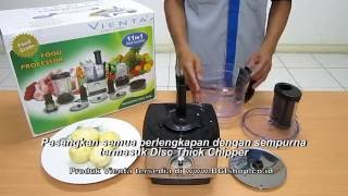 Vienta - Cara Memotong Kentang French Fries dengan Vienta Food Processor