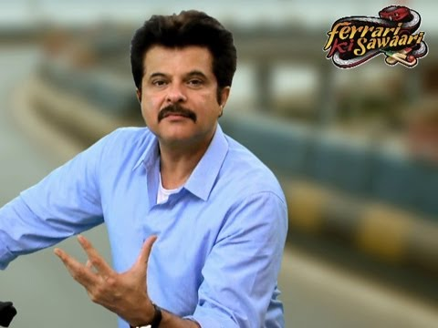 Anil Kapoor's Take On Ferrari Ki Sawaari
