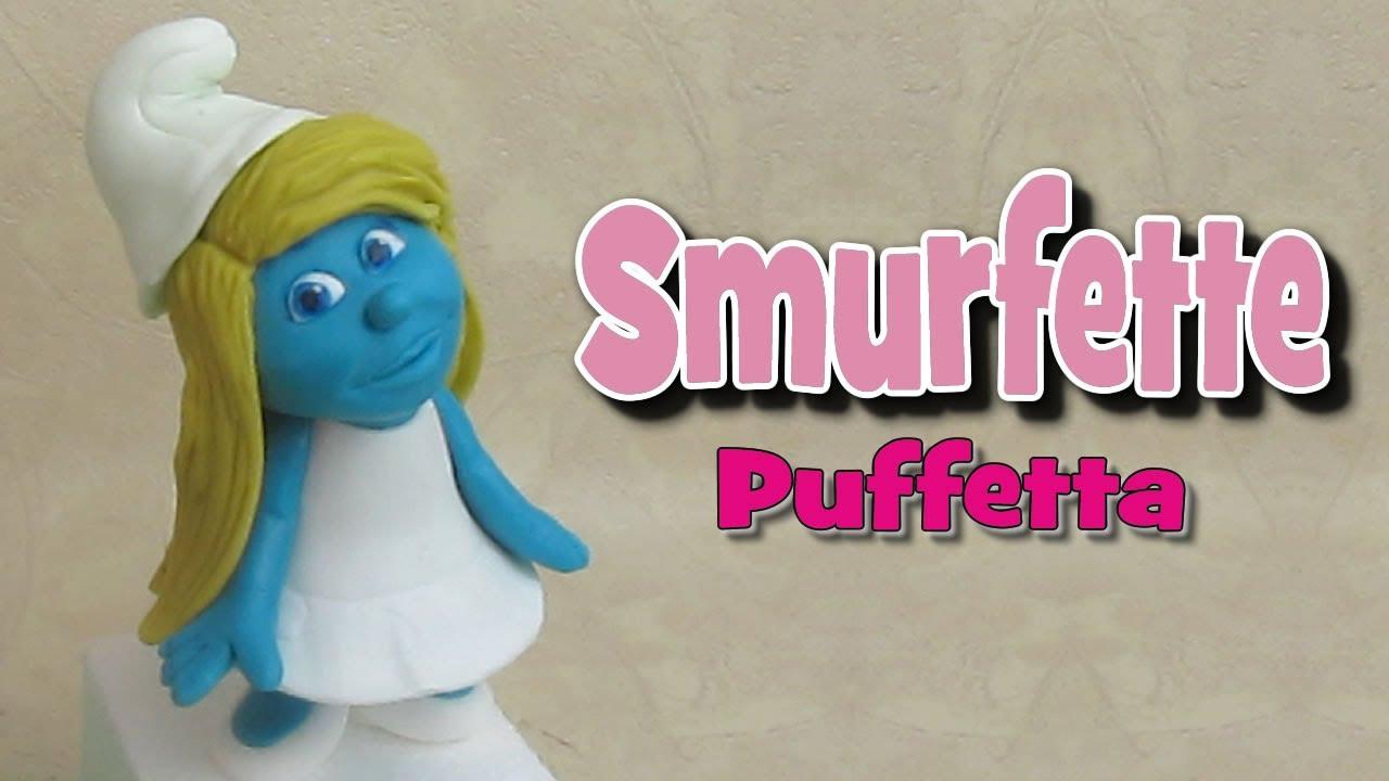 How To Make A Smurfette Cake