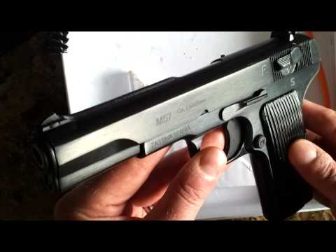 Tokarev M57 7.62x25 review