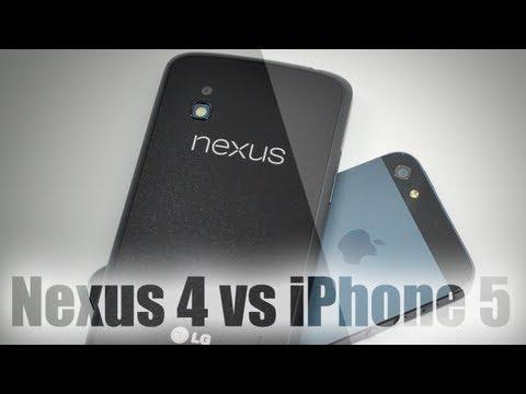 iPhone 5 и Nexus 4. Сравнение AppleInsider.ru