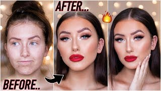 how to be a catfish in 2019... GLAM AF MAKEUP TUTORIAL