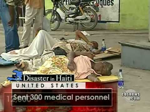 Medical Help Scarce in Haiti
