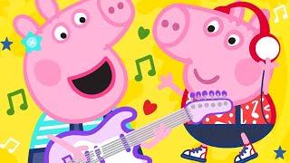 Peppa Pig Official Channel | Peppa Pig Songs - Bing Bong Zoo | Kids Songs