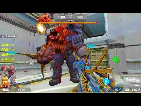Counter-Strike Nexon: Zombies - Fallen Titan Zombie Boss Fight (Hard7) gameplay on Contact Map