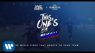 David Guetta ft. Zara Larsson - This One's For You Russia (UEFA EURO 2016™ Official Song)